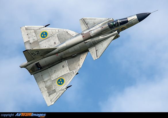 "Royal Swedish Air Force SAAB AJS-37 ""Viggen"""