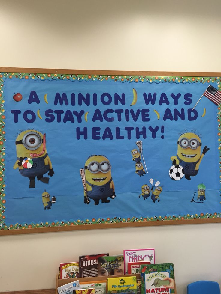 Minions Nursing Bulletin Board Nurse Office Pinterest