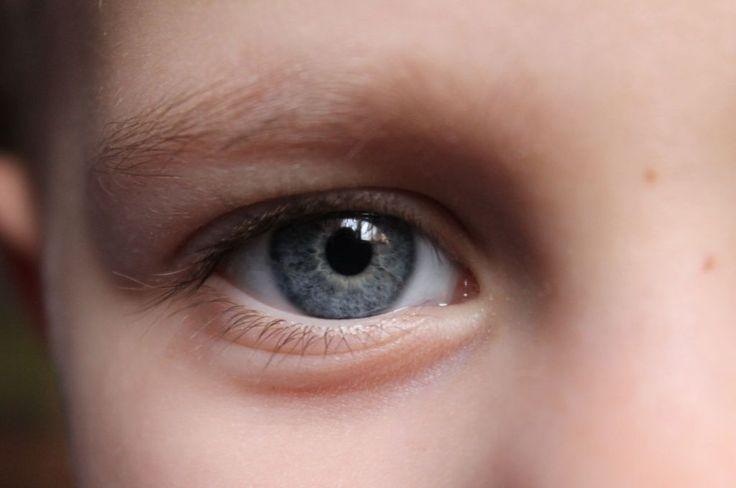 Blue Eyed kid