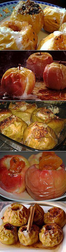 Печеные яблоки в духовке, вкусный и полезный десерт | Рецепты моей мамы