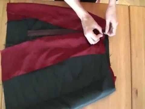 Tutorial: Come fare una gonna dritta partendo dal cartamodello - Parte 2