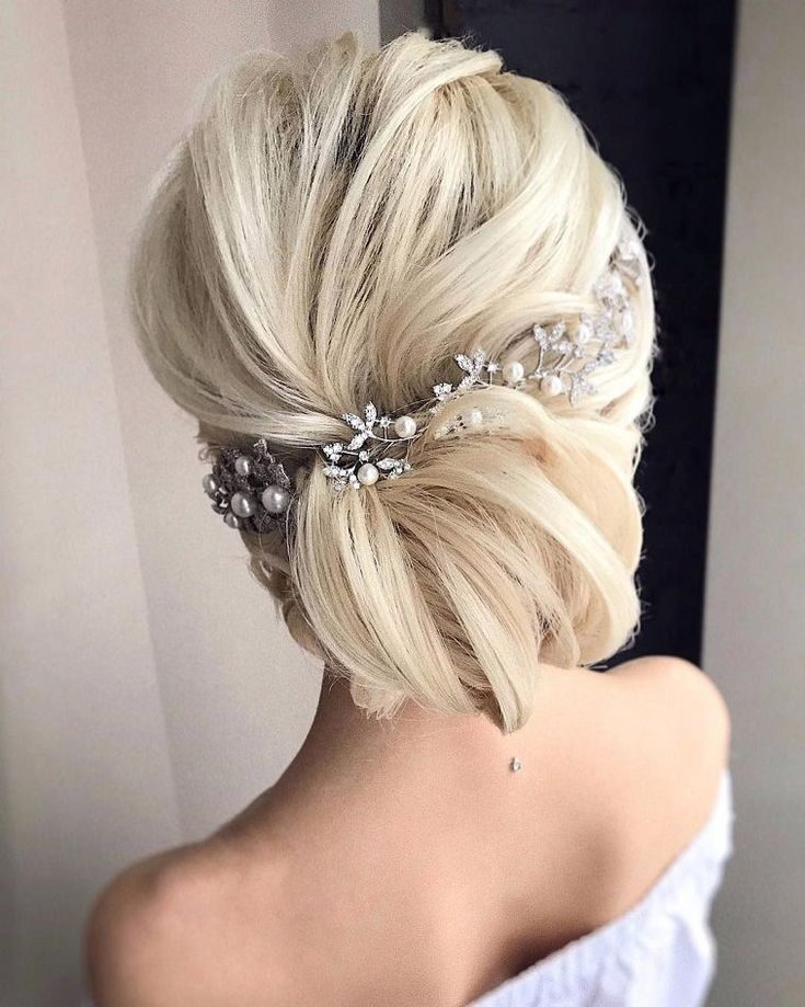 Gorgeous Wedding Hairstyles For the Elegant Bride - Updo Bridal hairstyle Featured Hair Stylish : Tonyastylist...