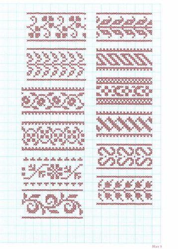 German embroidery pattern Festliche Kreuzstichmuster von Josefine Brogyanyi - Buch portofrei bei Weltbild.at kaufen