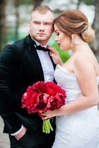 Пионы. Букет невесты