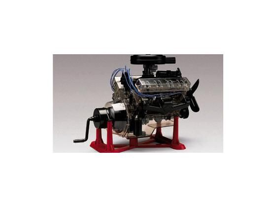 This 1/4 Scale Visible V-8 Engine Plastic Assembly Kit from Revell USA is a superb educational tool on the inner workings and construction of a V-8 engine! This is a skill level 3 model, recommended for ages 12 and up.