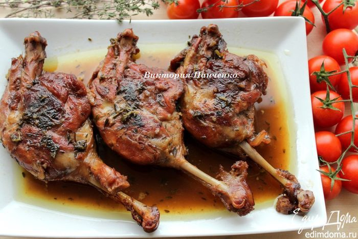 Утка в глинтвейн-маринаде | Кулинарные рецепты от «Едим дома!»