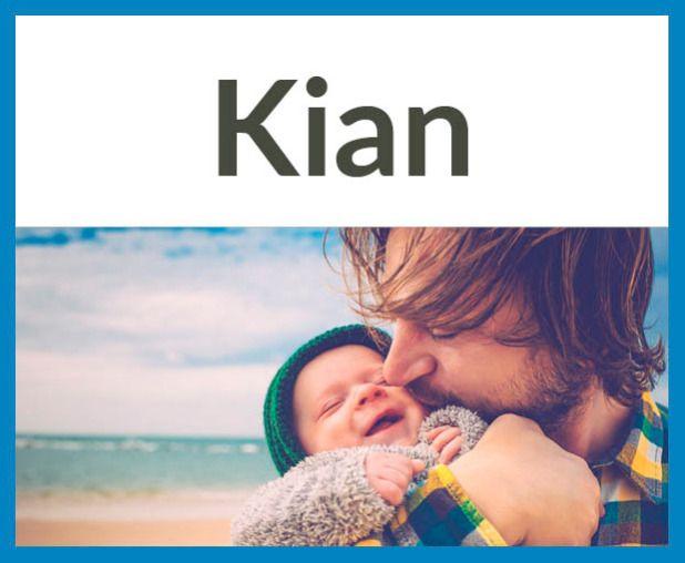Schöne Jungennamen, die auf -n enden Herkunft: Altirisch, Bedeutung: der Alte, der Weise