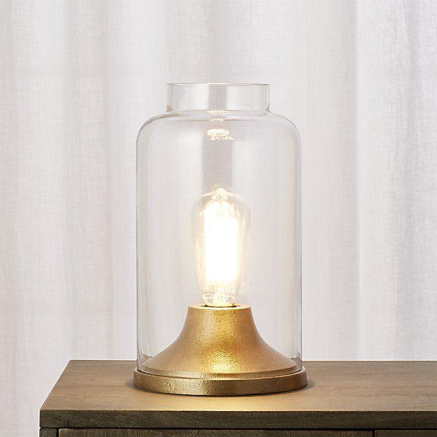 Cloche Brass Table Lamp | CB2