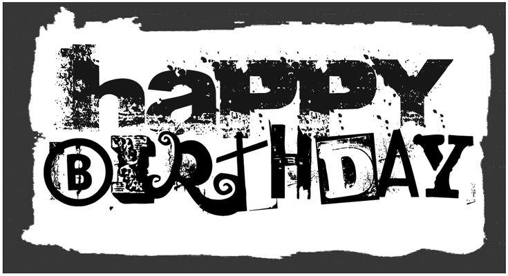 Happy Birthday Cool Fonts