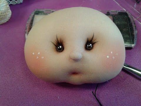 muñeca soft ,cabecita con barbilla ,manualilolis video :7 - YouTube