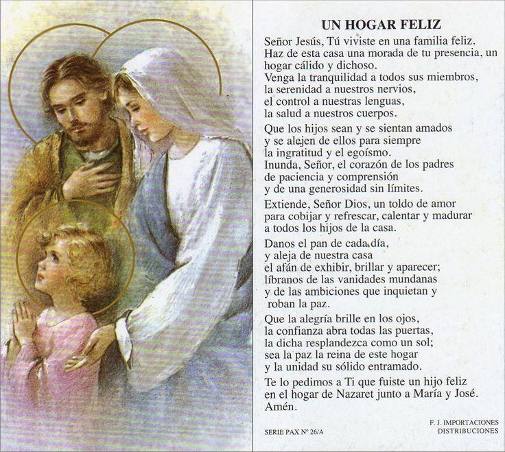 Apostolado de la Oración: Sagrada Familia de Jesús, María y José...
