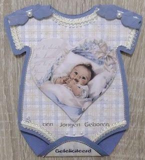 GREET'S KAARTENSITE: BABY ROMPERTJES EN ZEEZICHT KAART !!!