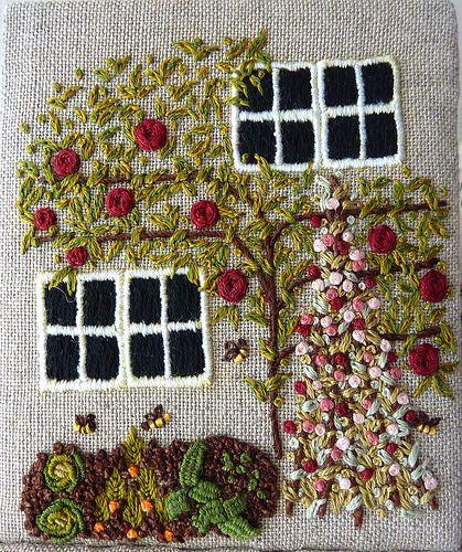 Etui Cottage Panel (Veg Garden)   Love Stitch!   Flickr