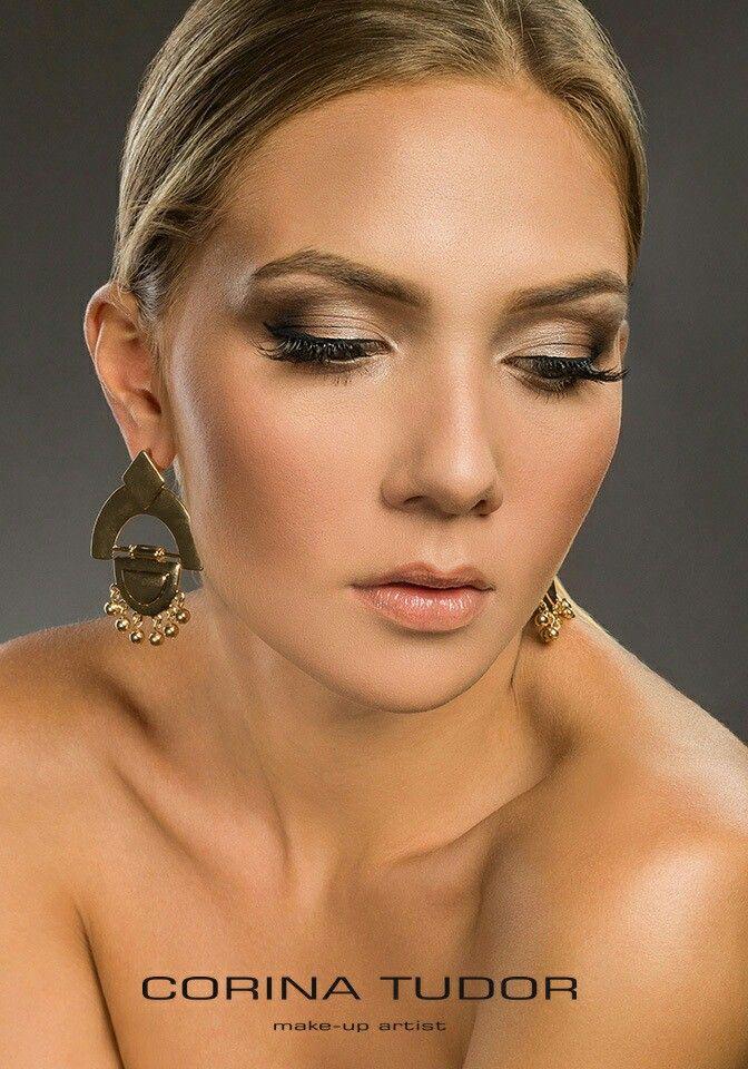 Natural look! Light makeup for this gorgeous girl!   Make-up: Corina Tudor  Model: Delia Moisei  Photo: Bogdan Teodorov - www.bogdanteodorov.com