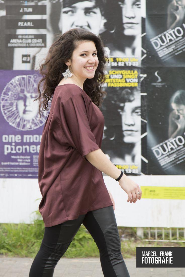 Meine selbstgenähte Bluse Felice, auf meinem Blog zeige ich wie es Schritt für Schritt gemacht wird! - Have a look at my blog, where I show you how to sew your own blouse Felice! :)