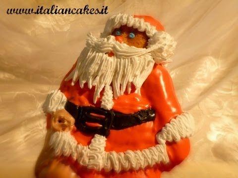 Dolci natalizi: Babbo natale decorato by ItalianCakes