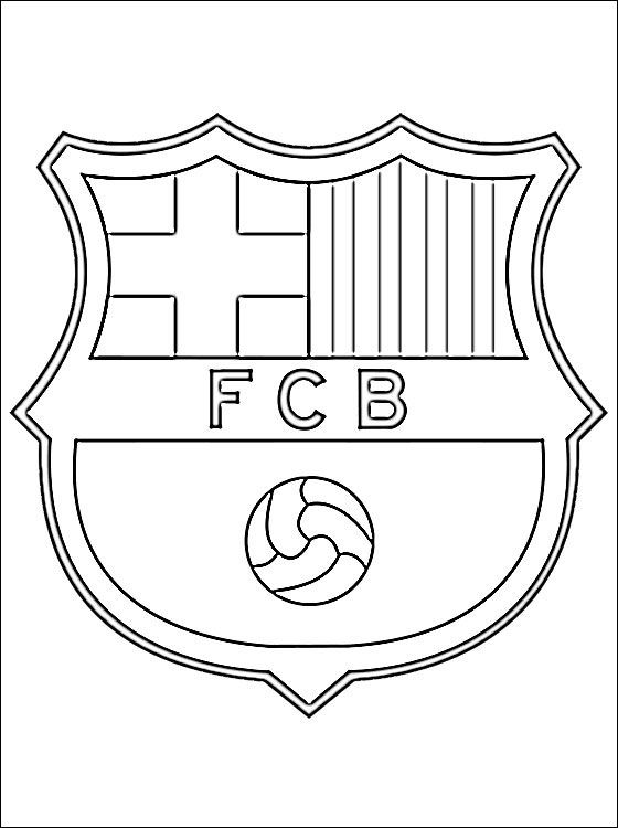 coloring pages barcelona fc tickets - photo#1