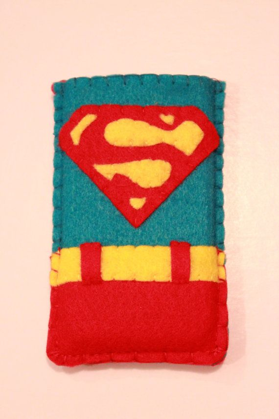Super Man inspired ipod or iphone case Halloween by JadedRabbit, $25.00