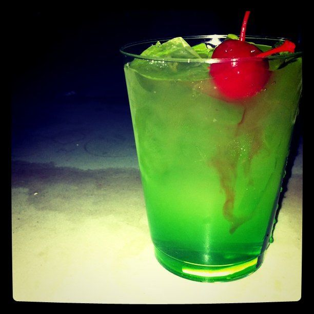 Midori sour my first and favorite mixed drink fun for Fun dip mixed drink