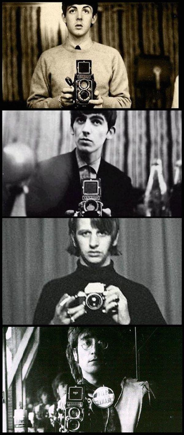 L'auto-portrait n'a pas attendu le smartphone pour exister en photo, preuve avec cette séries de selfies vintage étonnants.