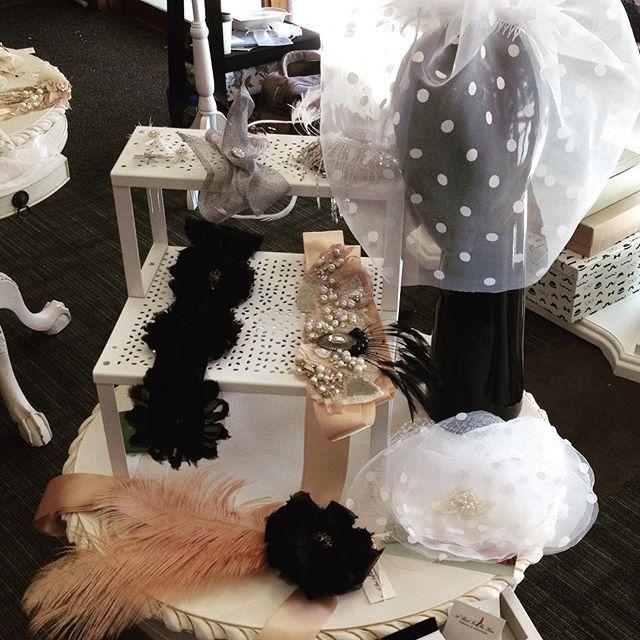 I love #polkadots! #weddingveil #silk #organza #whitewedding #rhinestone #handmade #perthbride #melbourneweddings #sydneybrides #perthmilliner @abirdinthehair
