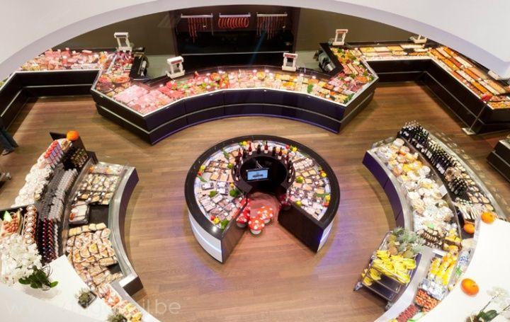 Dugardeyn butchers shop by Frigomil, Roeselare - Belgium