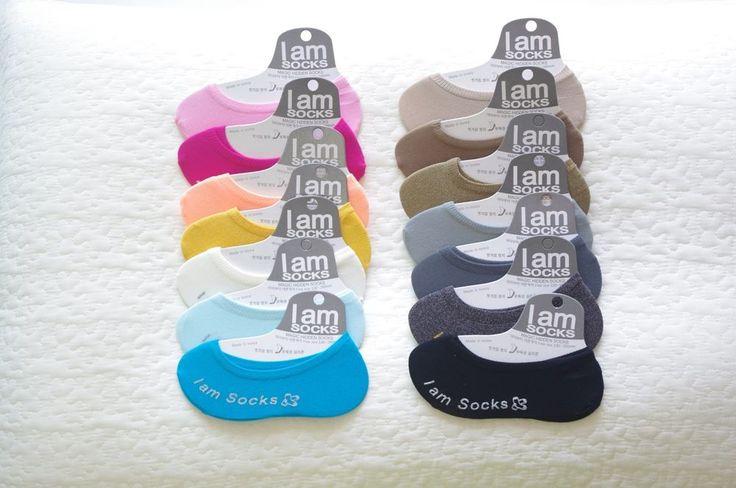 "Korean Magic Hidden Socks ""I am Socks"" 14Pairs for Women & Kids, Child TS030 #IamSocks #Casual"