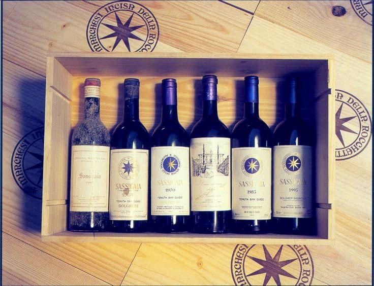 Sassicaia wine