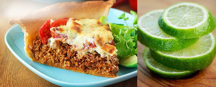 Een klassieke hartige taart, gekruid met lekkere Mexicaanse smaken, van de hete habanero tot de rokerige chipotle. Serveer goudbruin en warm, met een gemengde groene salade.