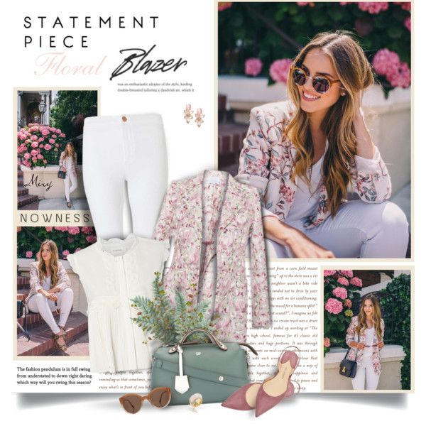 A fashion look from March 2017 by thewondersoffashion featuring Flannel, LUISA BECCARIA, Miss Selfridge, Paul Andrew, Fendi, Kate Spade e Illesteva