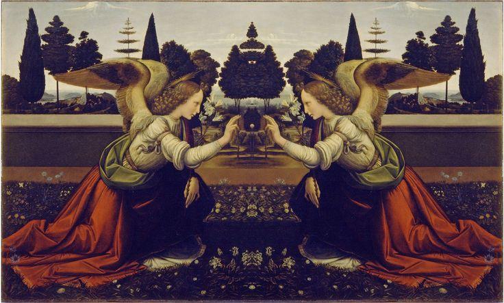 da vinci paintings | Da Vinci Mirror | Theory Time Travel Paintings ... Da Vinci Paintings Mirrored