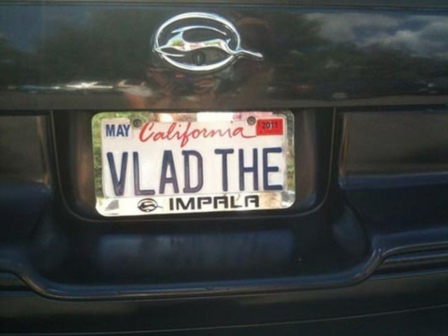 The 40 Cleverest License Plates Ever. I Had No Idea 8 Characters Could Be So…