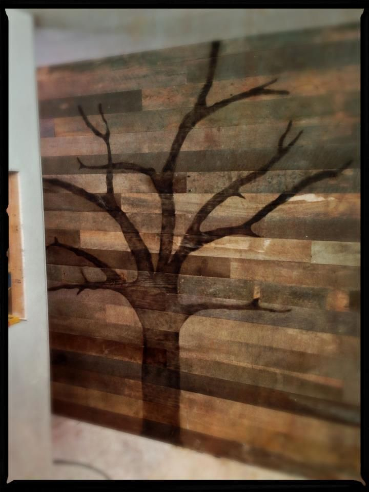 Made By Matt Muenster Of Bath Crashers 1 Cutout Tree Form From 3 4 Ply