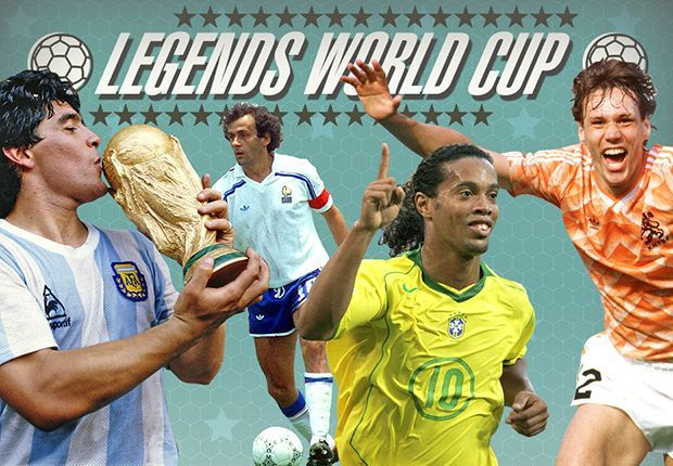 Who is the greatest player of all time? Messi Maradona & Ronaldo take part in Legends World Cup