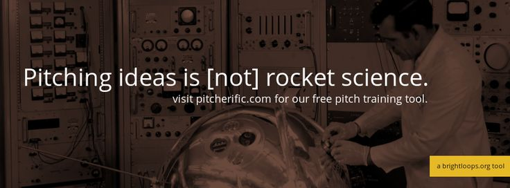 Pitcherific helps you create, train and improve your pitch.