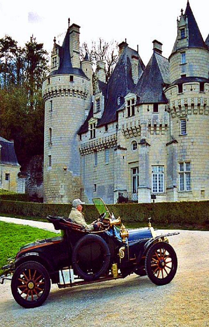 Chateau d'Ussé in Loire Valley, France