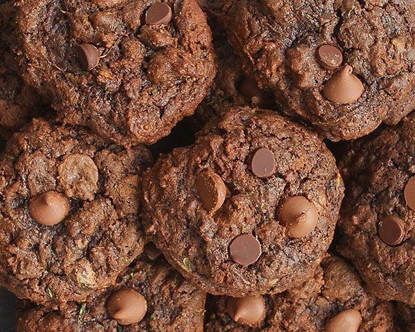 The BEST Chocolate Zucchini Cookie recipe you will ever try. This recipe will rival ANY chocolate cookie, zucchini or not!