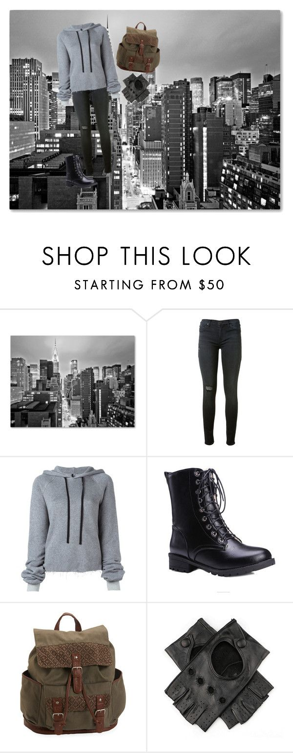 """autumn girl"" by barbi2003 on Polyvore featuring Trademark Fine Art, Hudson, Unravel, Aéropostale and Black"