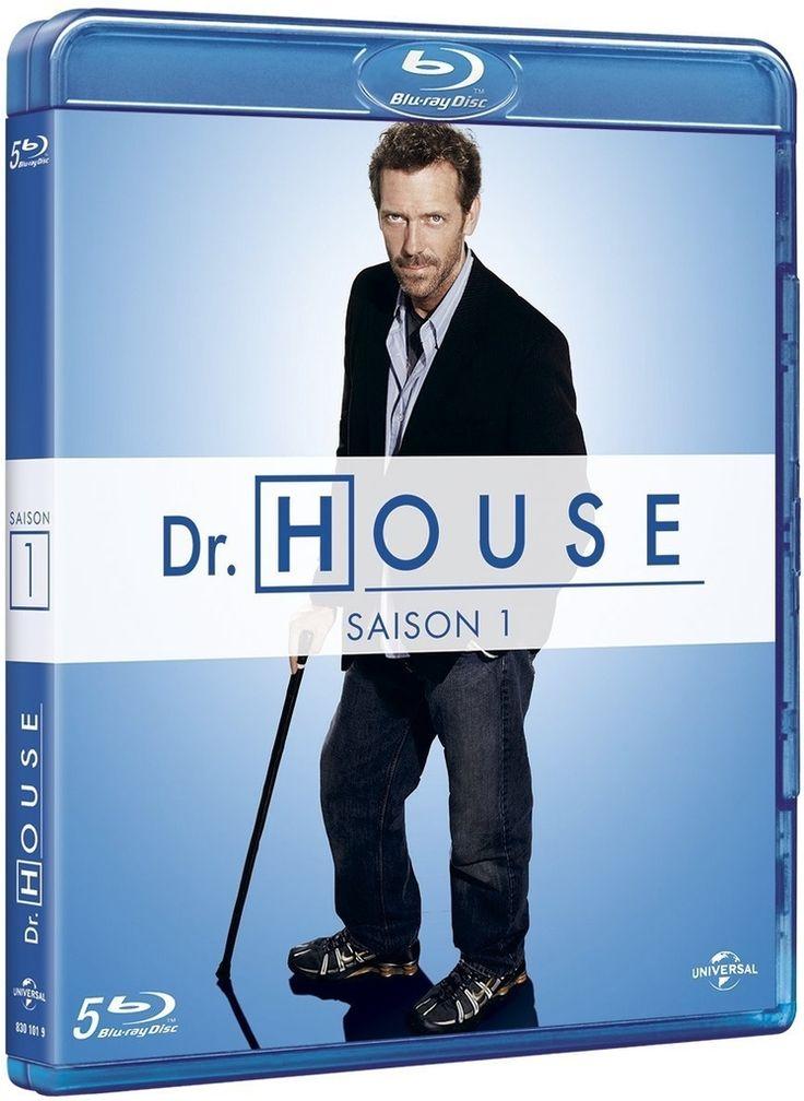 Dr House saison 1 à 8 en blu-ray en coffrets séparés