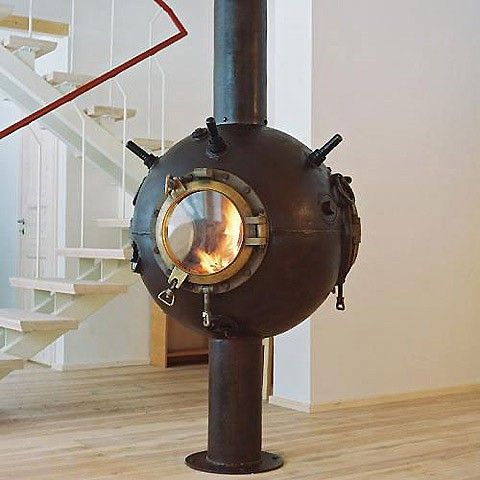 Image detail for -... Soviet deep-sea mines and turns them into amazing steampunk furniture