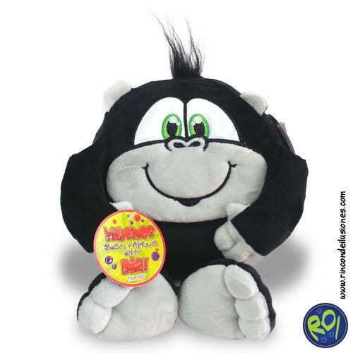 Popocho Gorila de Pelanas... encuéntralos en nuestros puntos de venta. #popocho #gorila #peluches #regalos  Número Único: 444 73 42  Si lo quieres dale me gusta!!