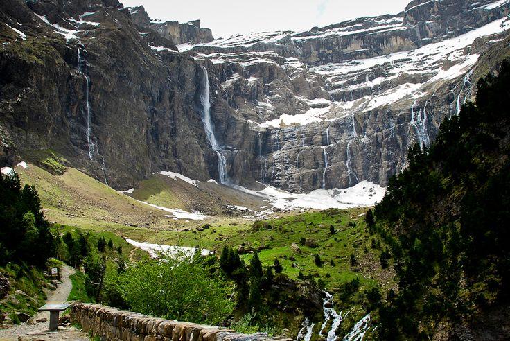 Nr 6 highest waterfall in Europe: Grand cascade du Gavarnie.  Top10 highest waterfalls in Europe: http://www.worldwidewaterfalls.com/top-10-waterfalls/