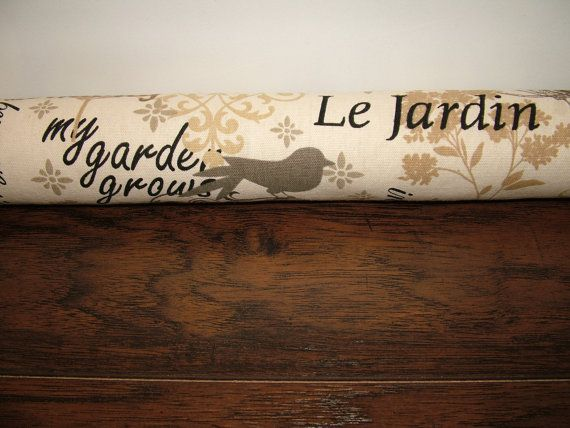Draft Stopper Door Window Ready To Ship by HomeDecorAmour on Etsy