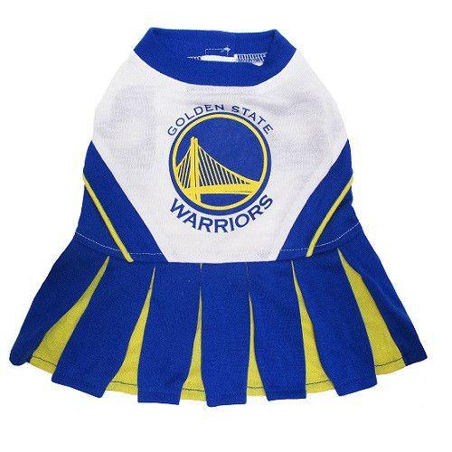 Golden State Warriors NBA Cheerleader Dog Dress