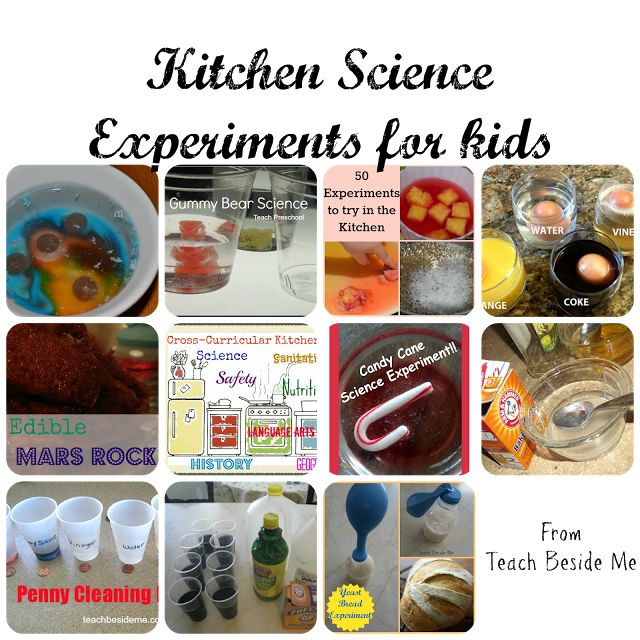 Kitchen Science Experiments for Kids