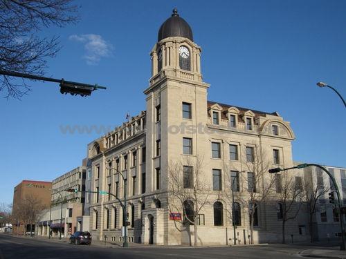 Lethbridge Post Office, Alberta, 1912.
