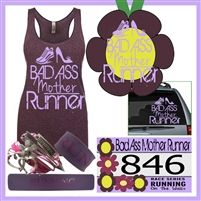 Are you a Bad Ass mother runner? If you prefer going for a long run instead of flower...you definitely are a Bad Ass!  Check out our virtual race or virtual run packet...perfect mother's day gift for runner! Bad Ass Mother Runner - Virtual Race Pack 433.99 only for all you see!