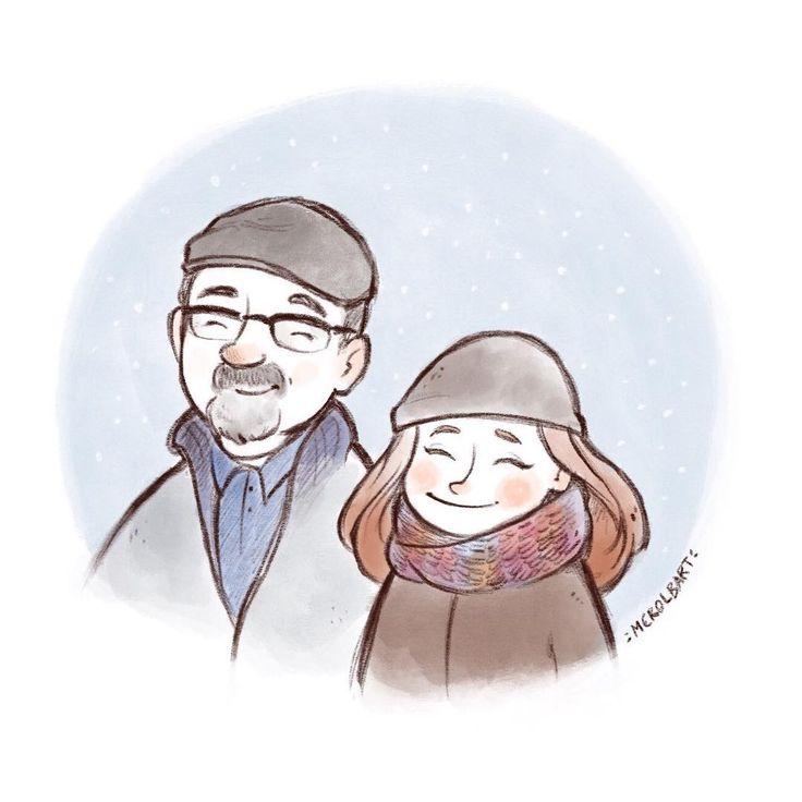 Being away from home in Christmas is hard. I miss you Dad ❤️ ________________ Estar lejos de casa en Navidad es muy duro. Te echo de menos Papá ❤️