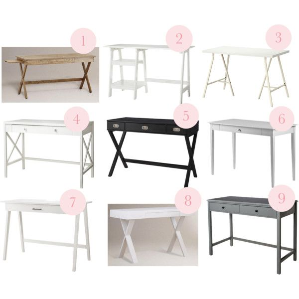 """Desks under $200"" by blue11interiors on Polyvore"