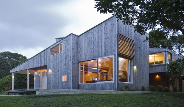 Leigh House, New Zealand by Tennant & Brown Architects